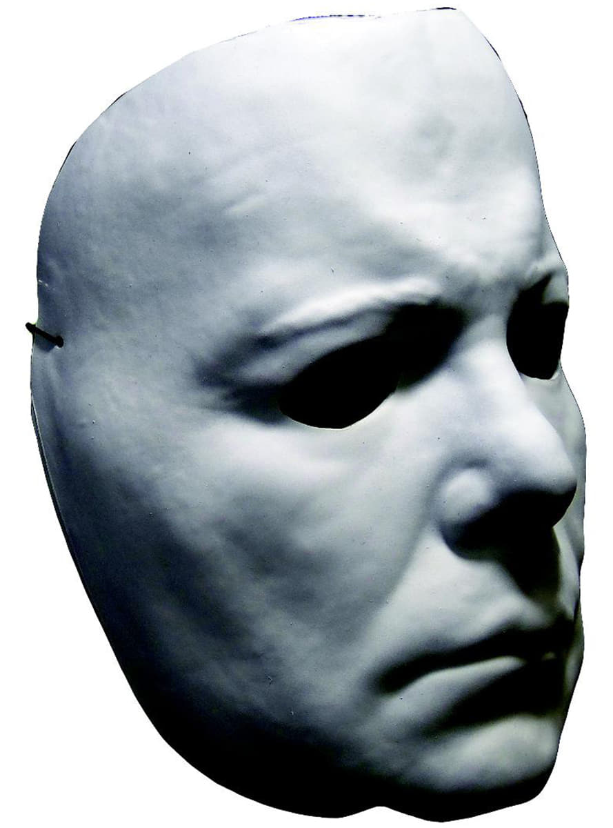 adult's classic michael myers halloween ii mask. fast delivery