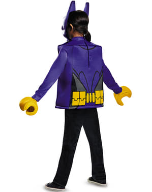 Batgirl Kostüm aus Lego Batman für Mädchen