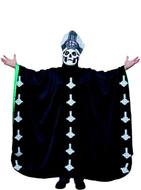 Fato de Papa Emeritus II Ghost para adulto