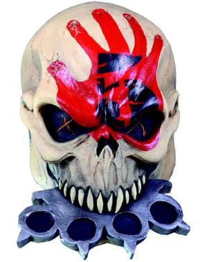 Máscara de Knuckle Head Five Finger Death Punch para adulto