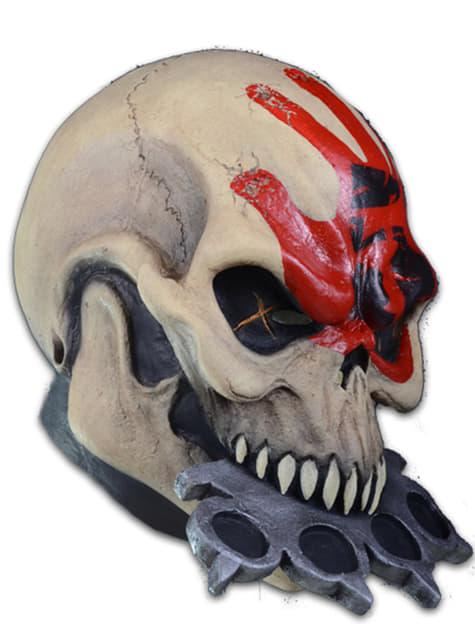 Adult's Knuckle Head Five Finger Death Punch Mask