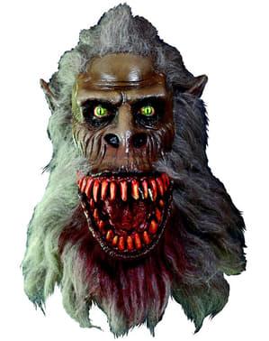 Fluffy Creepshow Maske for Voksne