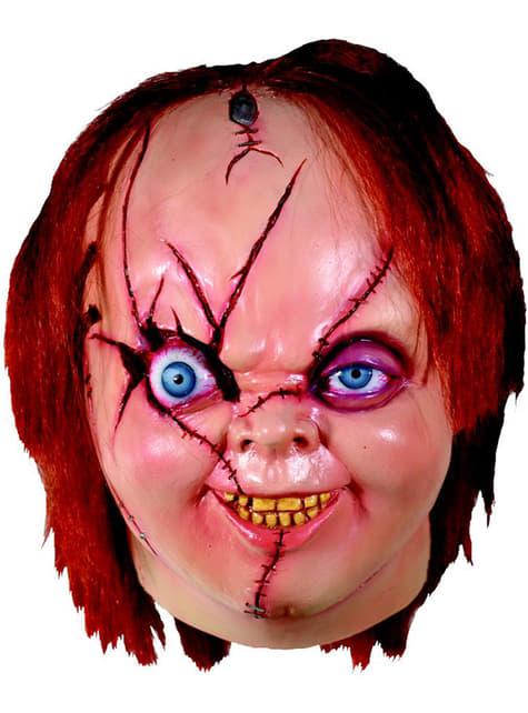 Máscara de Chucky La Novia de Chucky para adulto