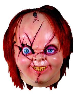 Máscara de Chucky para adulto - La Novia de Chucky