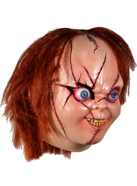 Máscara de Chucky La Novia de Chucky para adulto - para tu disfraz
