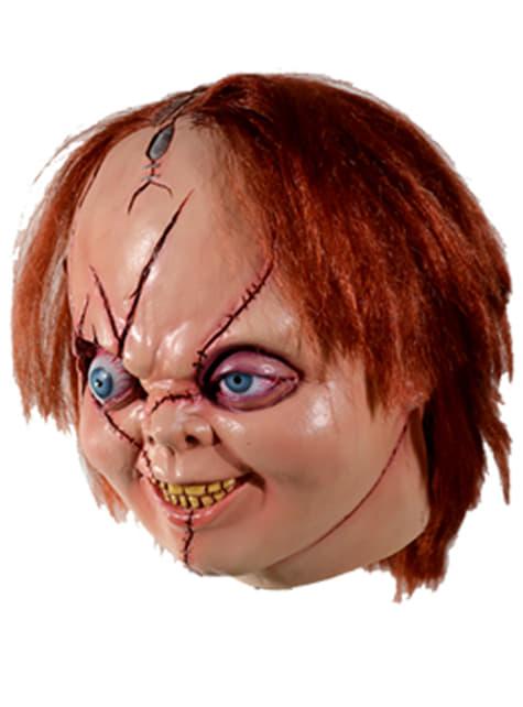Máscara de Chucky La Novia de Chucky para adulto - original
