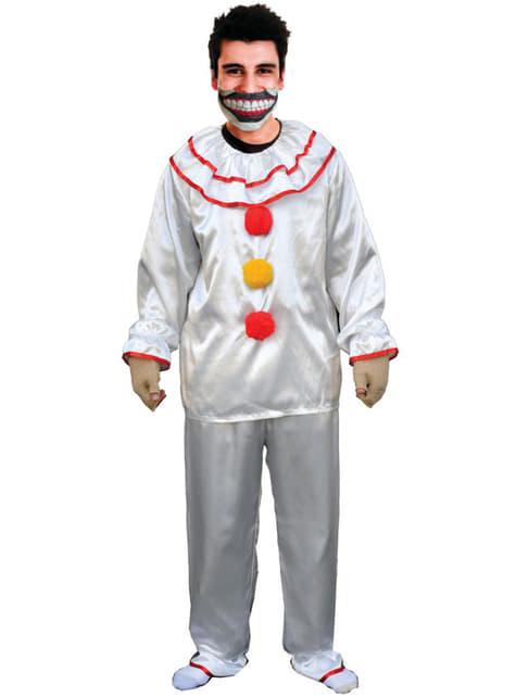 Twisty de Clown kostuum American Horror Story voor volwassenen