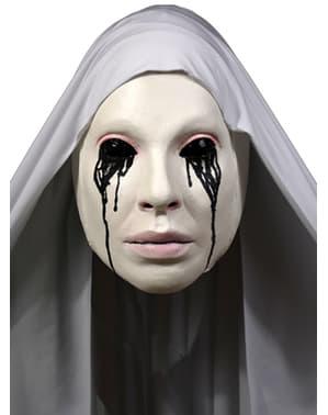 Hvit Nonne American Horror Story Asylum Maske for Voksne