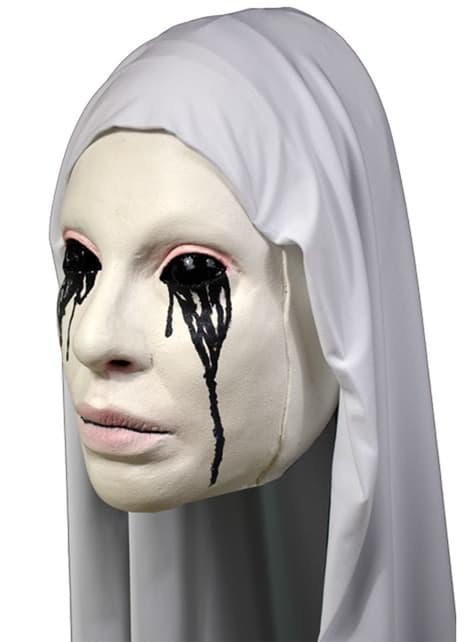 Máscara de La monja blanca Asylum American Horror Story para adulto
