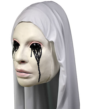 Masque nonne blanche Asylum American Horror Story adulte