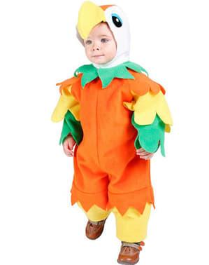 Costum de papagal bebeluși