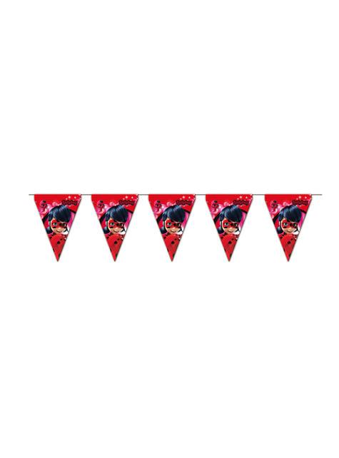 Banderines Las aventuras de Ladybug - Miraculous