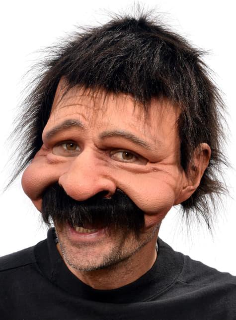 Máscara de tío Bobby para adulto