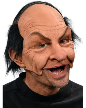 Adult's Arrogant Bald Man Mask
