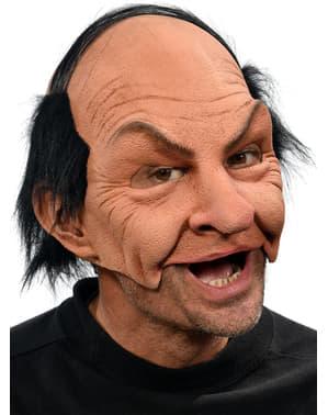 Máscara de hombre calvo arrogante para adulto