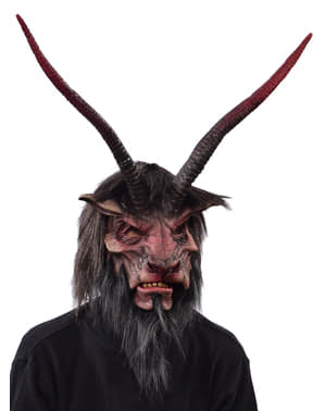 Máscara de demónio do submundo para adulto