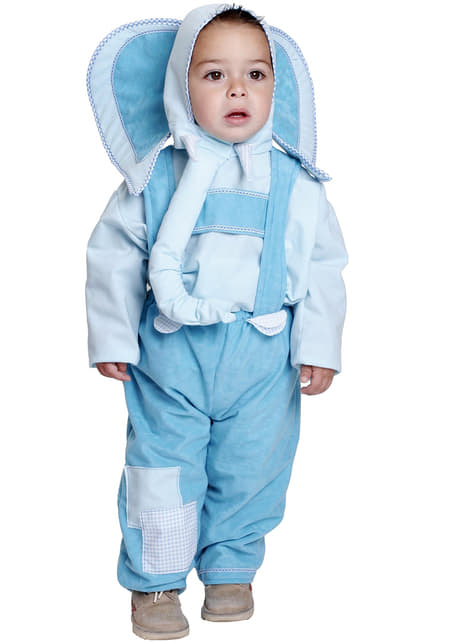 Disfraz de elefantito bebé