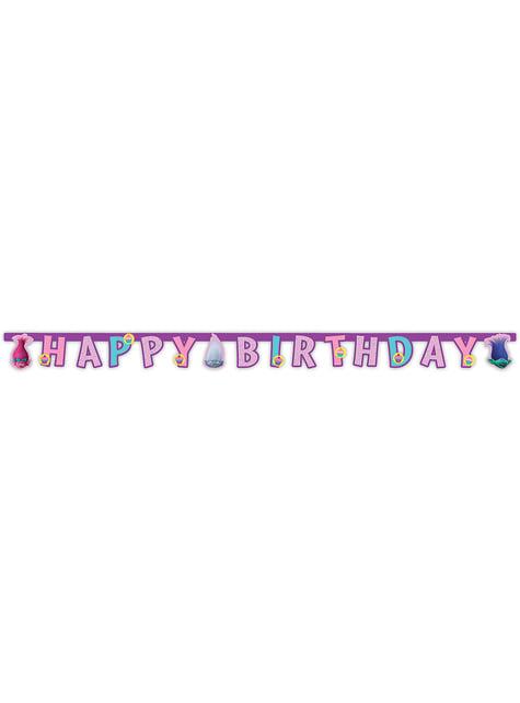 Cartel Happy Birthday Trolls