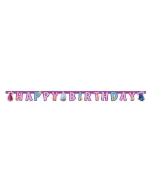 Grinalda de Trolls de aniversário