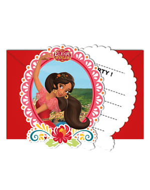 6 Elena of Avalor Invitations