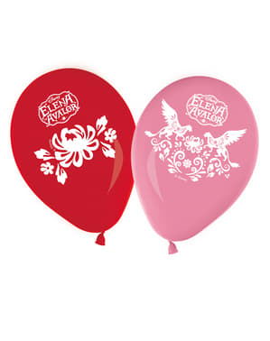 8 Elena of Avalor Balloons (30 cm)