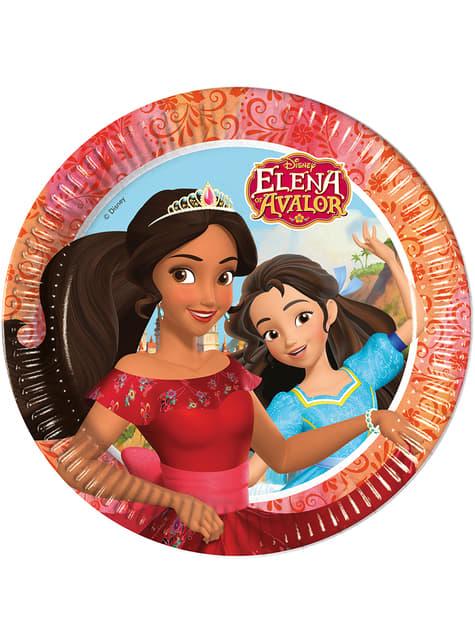 8 platos Elena de Avalor (23 cm)