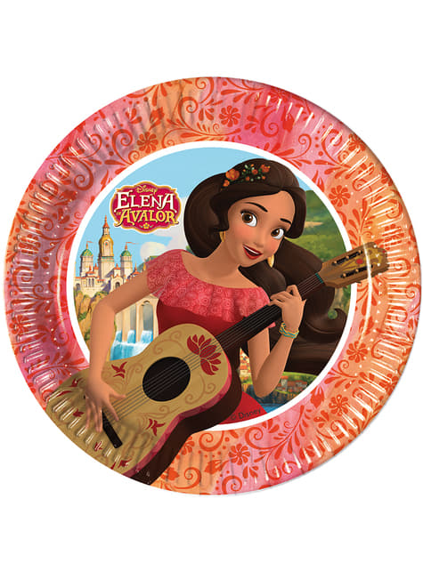 8 platos Elena de Avalor (20 cm)