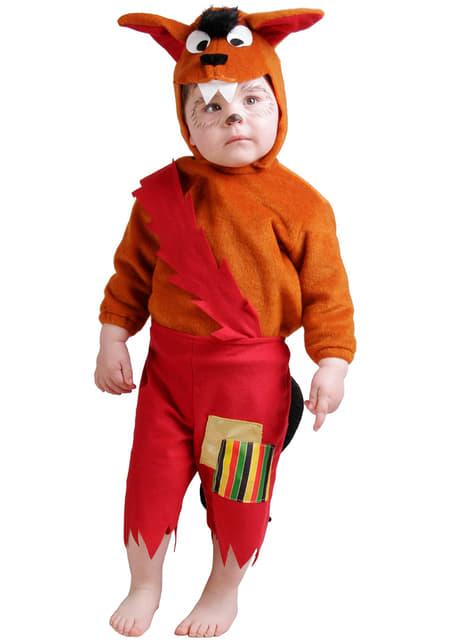 Wolf κοστούμι για μωρά