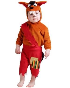 Wolf kostuum voor baby's
