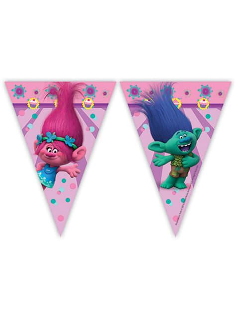 Bandeirolas Trolls