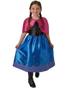 Kostum Fasching Disney Frozen Die Eiskonigin Elsa Deluxe L 7 8 Jahre Neu