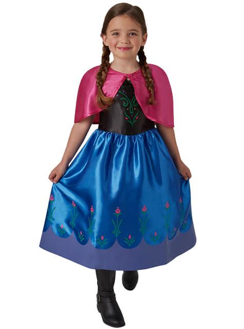 Costume Anna Frozen - Il regno di ghiaccio da bambina