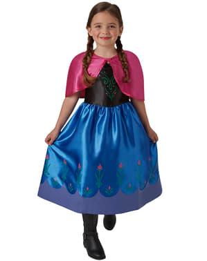Costum Anna Regatul de gheață (Frozen) pentru fată