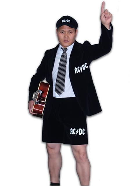 Angus Young AC/DC kostume til voksne