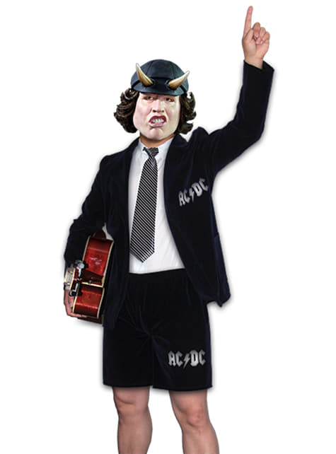 Kostium Angus Young AC/DC męski