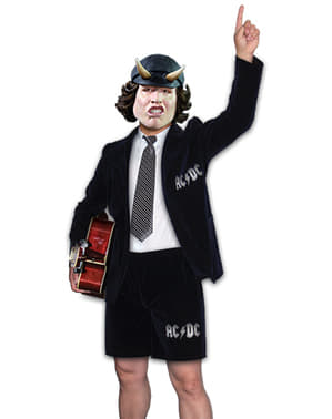 Miesten AC/DC Angus Young -asu
