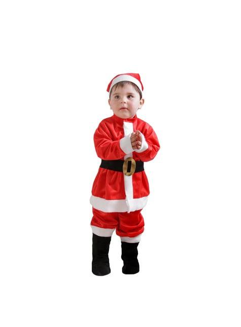 Joulupukin asu vauvalle
