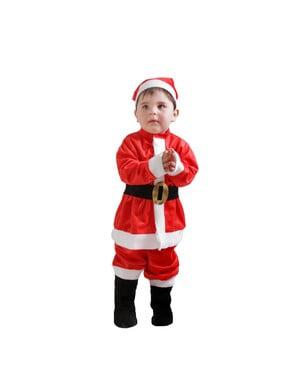 Costum Moș Crăciun bebeluși