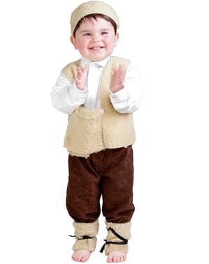 Hyrdedreng kostume til baby