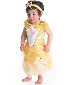 Costume da Belle deluxe La Bella e la Bestia per neonato