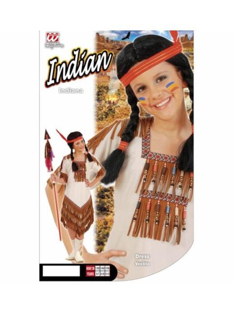 Amerikaanse indiaan Kostuum voor meisjes