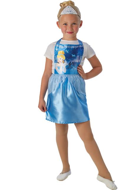Girl's Economy Cinderella Costume Kit