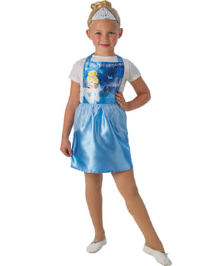 Kit costum Cenușăreasa economic pentru fată