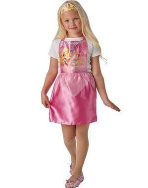 Dívčí kostým Šípková Růženka levný