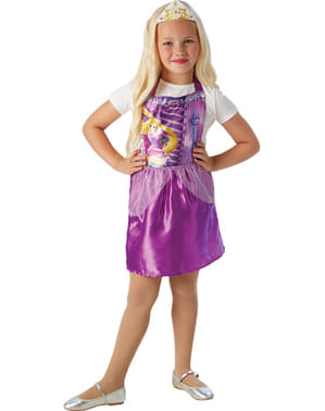Kit Disfarce de Rapunzel económico para menina