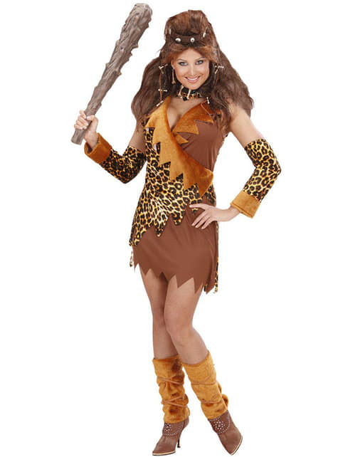 Woman's Friendly Cavewoman Costume