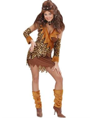 Costum de primitivă simpatică pentru femeie