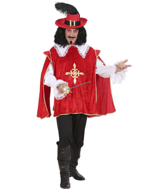 Disfraz de mosquetero D'Artagnan para hombre