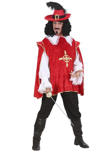 Déguisement de mousquetaire D'Artagnan pour homme