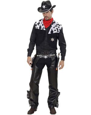 Disfraz de vaquero desafiante para hombre